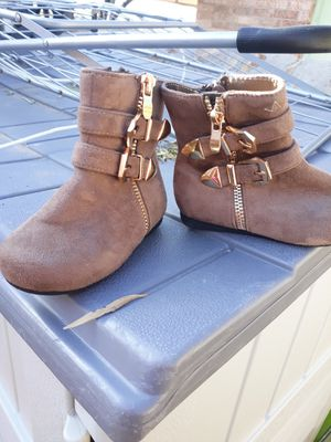 Little girl boots sizes 5 for Sale in El Paso, TX