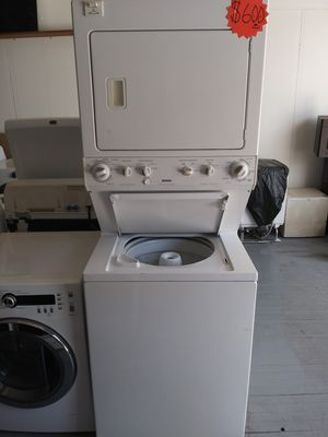 KENMORE STACKED WASHER / ELECTRIC DRYER SET for Sale in East Cleveland, OH