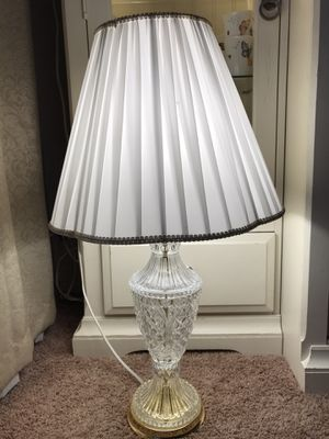 Crystal Lamp for Sale in Montclair, CA