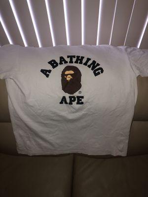 Bape t shirt xl for Sale in South Houston, TX