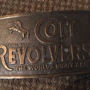Colt Belt Buckle for Sale in Wichita, KS