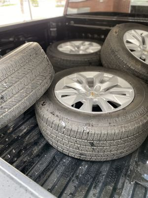 Wheels and tires.. less than 3k miles for Sale in Bountiful, UT