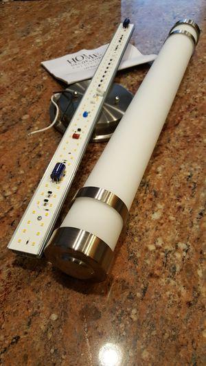 Home Decorators Brushed Nickel LED Vanity Light for Sale in Rockville, MD