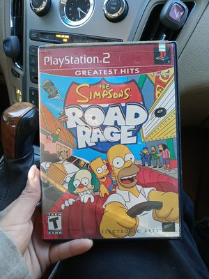 PS2 GREATEST HITS THE SIMPSOMS ROAD RAGE for Sale in San Antonio, TX