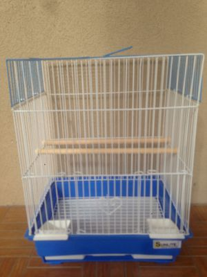Small blue bird cage for Sale in Los Angeles, CA