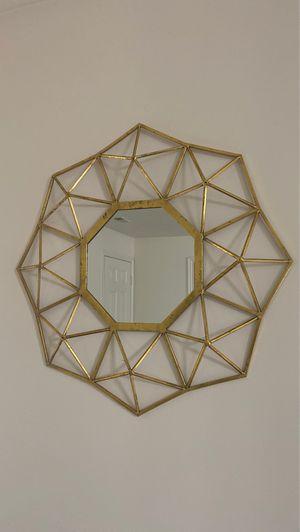 Gold vintage mirror for Sale in Sandy, UT