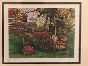 Signed - Pretty Little Country Farmhouse Scene Framed Art Print for Sale in Baltimore, MD