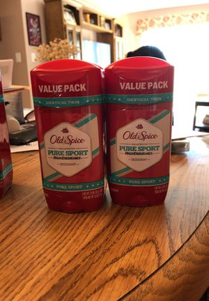 Old spice pure sport high endurance 2 pack - 4 total! for Sale in Warren, MI