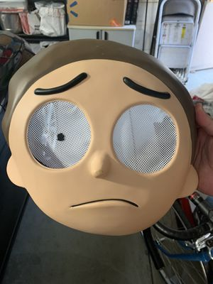 Morty Halloween mask for Sale in Sacramento, CA