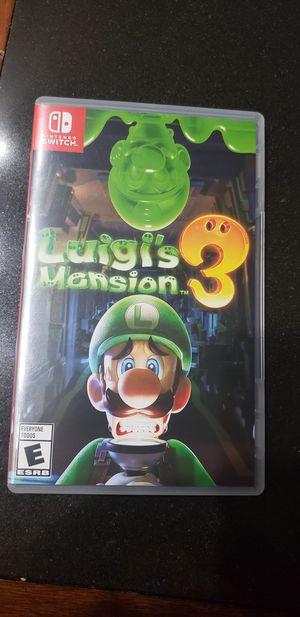 Luigi's Mansion 3 for Nintendo Switch for Sale in Peoria, AZ