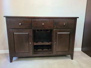 Dark brown Dining Room Server Brand New for Sale in Anaheim, CA