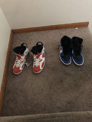 Jordan 6's Gatorade and Jordan 1's for Sale in Detroit, MI
