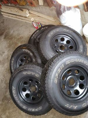 5x4.5 wheels and tires for Sale in Warwick, RI