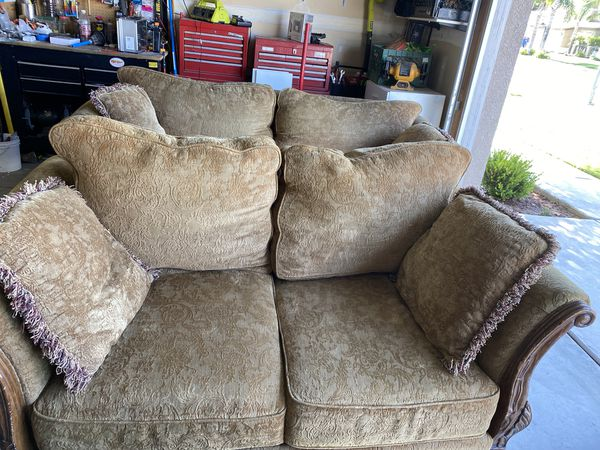 Couch and Love Seat - Covers are washable