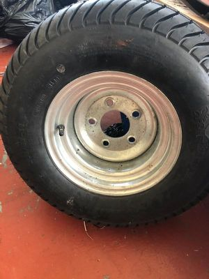 New Tire Trailer golf car exc $80 for Sale in Carol City, FL