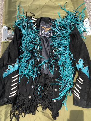 Leather and suede jacket for Sale in Myrtle Beach, SC