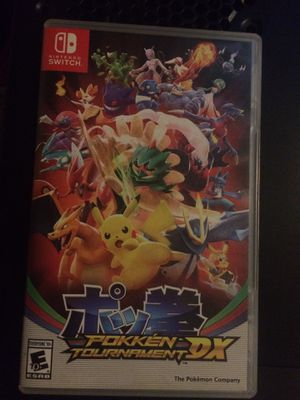 Nintendo switch POKKEN TOURNAMENT DX for Sale in Puyallup, WA