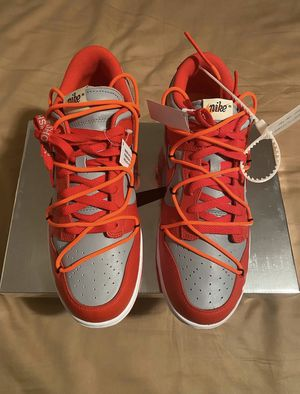 Off White X Nike SB Dunk Red University Size 10 for Sale in New Kensington, PA