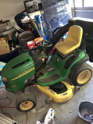 2004 John Deere L120 with bagger for Sale in Lawrenceville, GA