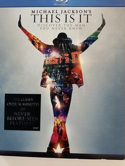 Michael Jackson-This Is It DVD (BlueRay) for Sale in Long Beach,  CA