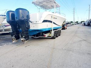 PROLINE 30 EXPRESS DEL 2004 CON DOS MERCURY 250 EFI DEL 2004 CON 290 HORAS TRAILER 2015 for Sale in Hialeah, FL
