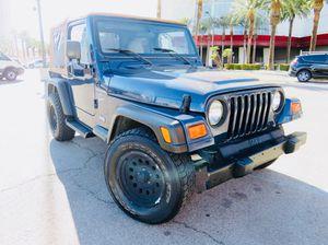 2001 Jeep Wrangler for Sale in Las Vegas, NV