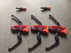 Nerf Mega Thunder bow + 2 Scopes Blaster Scopes for Sale in Richmond, VA