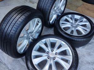 "18"" Toyota wheels 235/45/18 Hankook tires 90% for Sale in Torrance, CA"