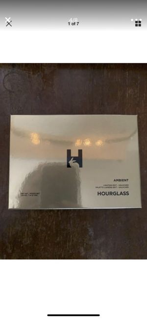 BRAND NEW!!! AUTHENTIC Hourglass Ambient Lighting Edit UNLOCKED Palette~HIGHLIGHTER/ BRONZER!! AUTHENTIC!!!LIMITED EDITION SOLD OUT! Can't get anymor for Sale in Riverside, CA