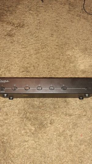 Rocketfish 6 pair stereo speakers selector for Sale in Nashville, TN