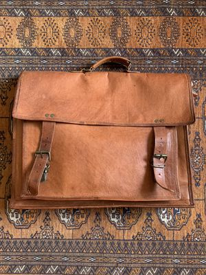 Leather Messenger Bag for Sale in Fairfax, VA