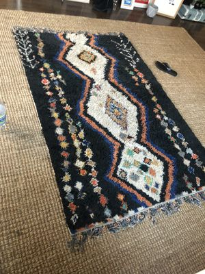 Moroccan shag rug!! for Sale in Los Angeles, CA