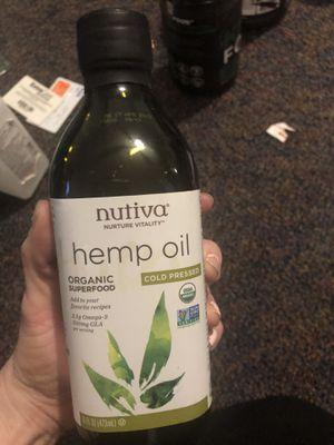 Hemp oil sealed for Sale in Montgomery, AL