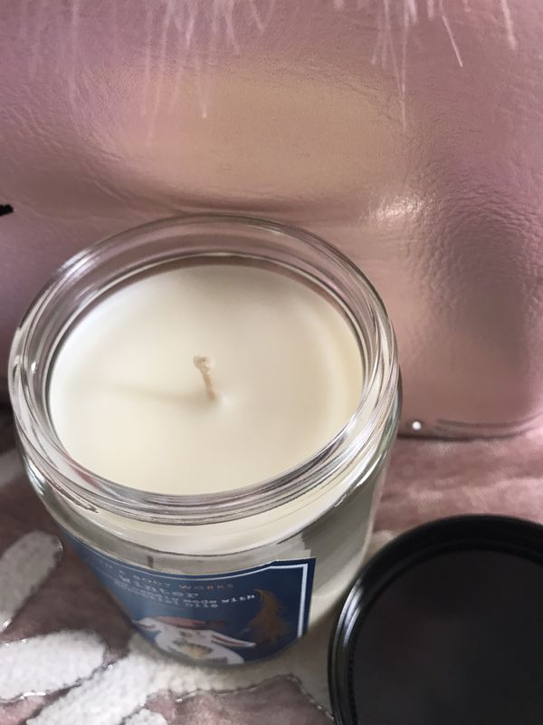 BATH AND BODY WORKS ONE WICK CANDLE ❄️