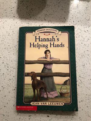 Hannah's Helping Hands- Jean Van Leeuwen (Scholastic) for Sale in Cerritos, CA