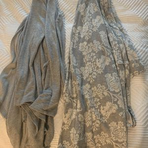 Set Of 2 Cardigan Shawls - Grey - Size Small for Sale in Chandler, AZ
