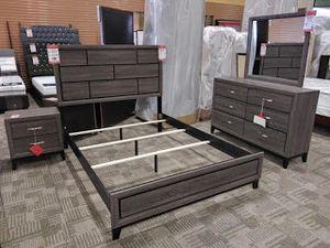 Queen bedroom set (4 pieces) **only 399.99** for Sale in Phoenix, AZ