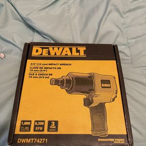 "3/4"" DRIVE IMPACT WRENCH NEW for Sale in West Memphis, AR"