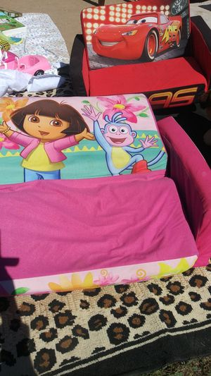 Dora kids fold out couch for Sale in Phoenix, AZ