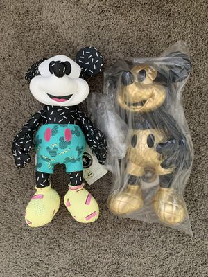 Mickey Mouse Memories Plushies for Sale in San Diego, CA