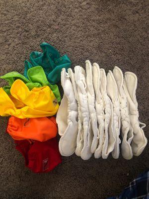 newborn cloth diaper covers & liners for Sale in Rialto, CA