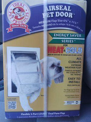 Air seal pet door new firm$$$ for Sale in Modesto, CA