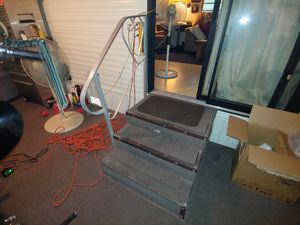 Trailer/Camper Stairs in excellent condition w/Rail. for Sale in Avon Park, FL