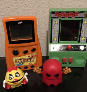 PAC-MAN & Frogger hand held games for Sale in University Place, WA