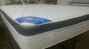 Queen size Pillow Top Mattress With Box spring we have all sizes available ( Habló Español) for Sale in Sterling, VA