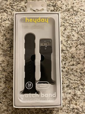 FOR APPLE WATCH BAND 38mm BLACK for Sale in Clovis, CA