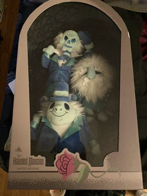 Disneyland haunted mansion anniversary plushies for Sale in Fullerton, CA