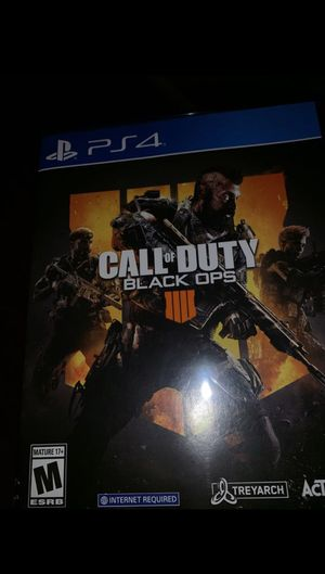 Call of duty Black Ops 4 for Sale in Stockton, CA