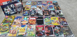 Nintendo switch games for sale. Game list and prices in the description for Sale in NEW KENSINGTN, PA
