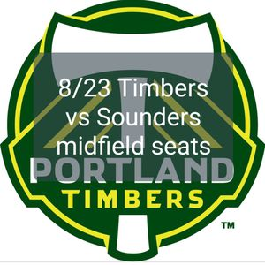 Portland Timbers vs Seattle Sounders Friday 8/23 midfield seats for Sale in Portland, OR